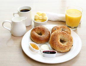 Complimentary Deluxe Continental Breakfast